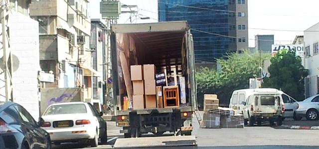 Перевозки квартир в Рамат-Гане