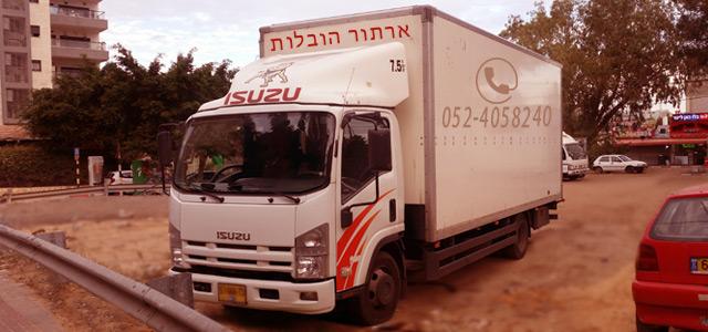 Перевозки офисов в Ор-Йехуде