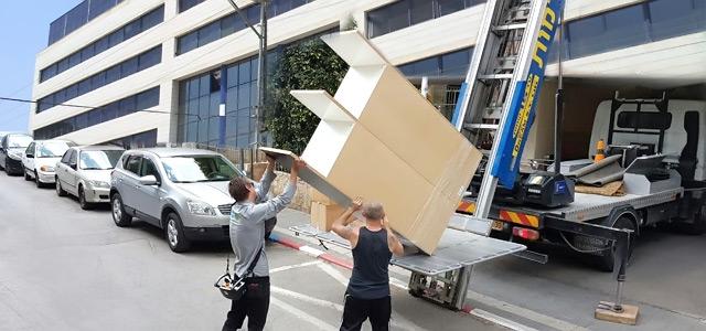 Перевозки офисов в Петах-Тикве