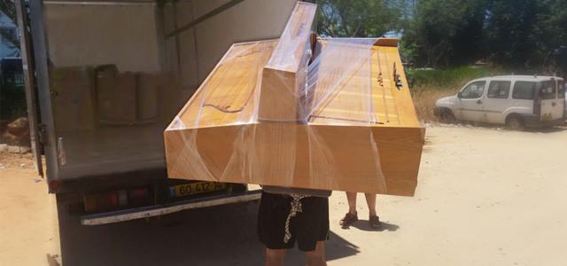 Перевозка крупногабаритных грузов в центре Израиля