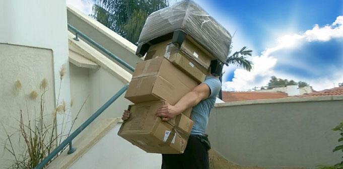 Перевозки квартир в Раанане